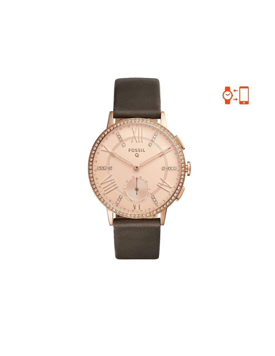 Fossil Q Gazer Smartwatch Reloj H 237 Brido Para Dama Piel
