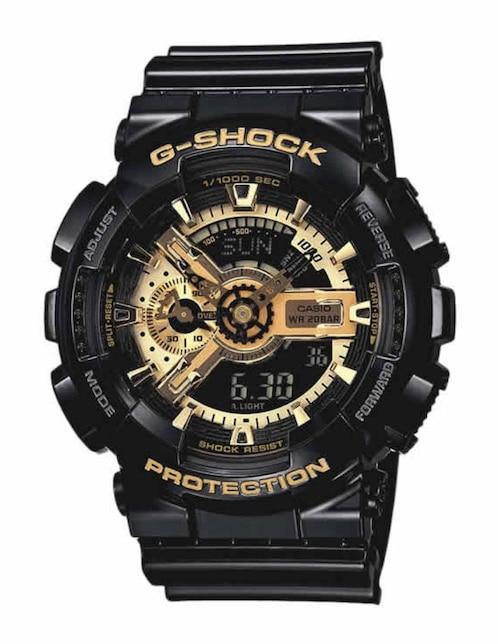 fbdaca8b678b Reloj para caballero Casio G-Shock GA-110GB-1ACR negro