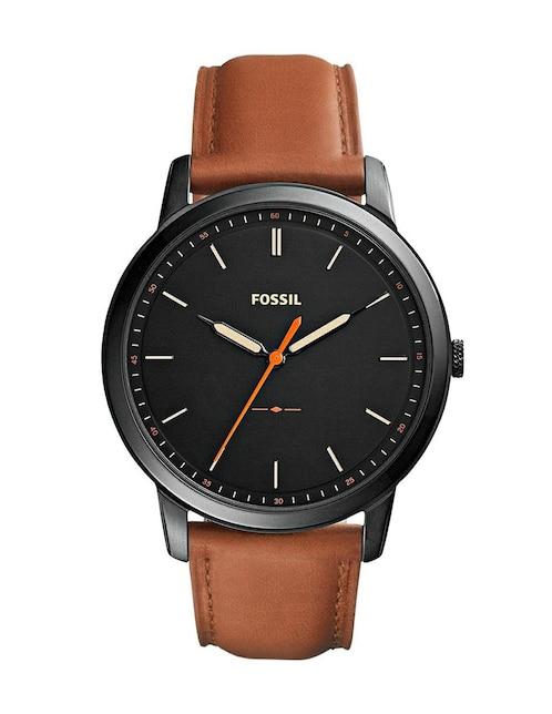 d362803e7161 Reloj para caballero Fossil The Minimalist 3H FS5305 café