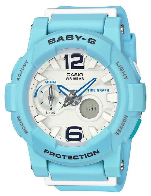 ada6e872c76e Vista Rápida. Reloj para dama Casio Baby-G BGA-180BE-2BCR azul. Precio  Sugerido    2