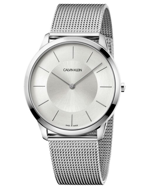 3d5e6a5bd714 Vista Rápida. Reloj unisex Calvin Klein Minimal K3M2T126