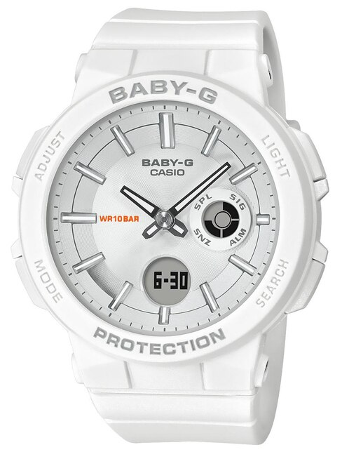 e49a36f19d5e Vista Rápida. Reloj para dama Casio Baby-G BGA-255-7ACR blanco. Precio  Sugerido  ...
