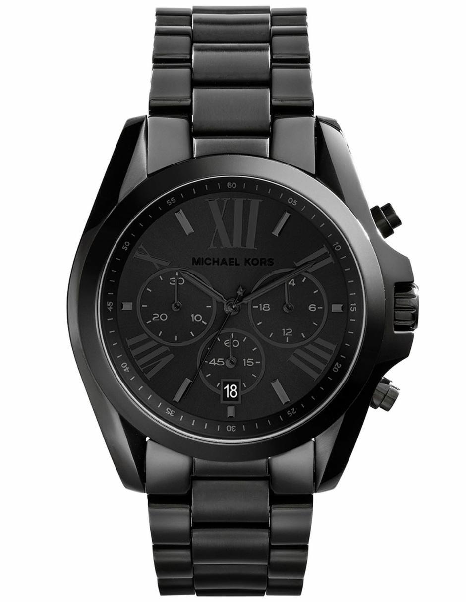 760618cd822d Reloj para dama Michael Kors Bradshaw MK5550 negro Precio ...