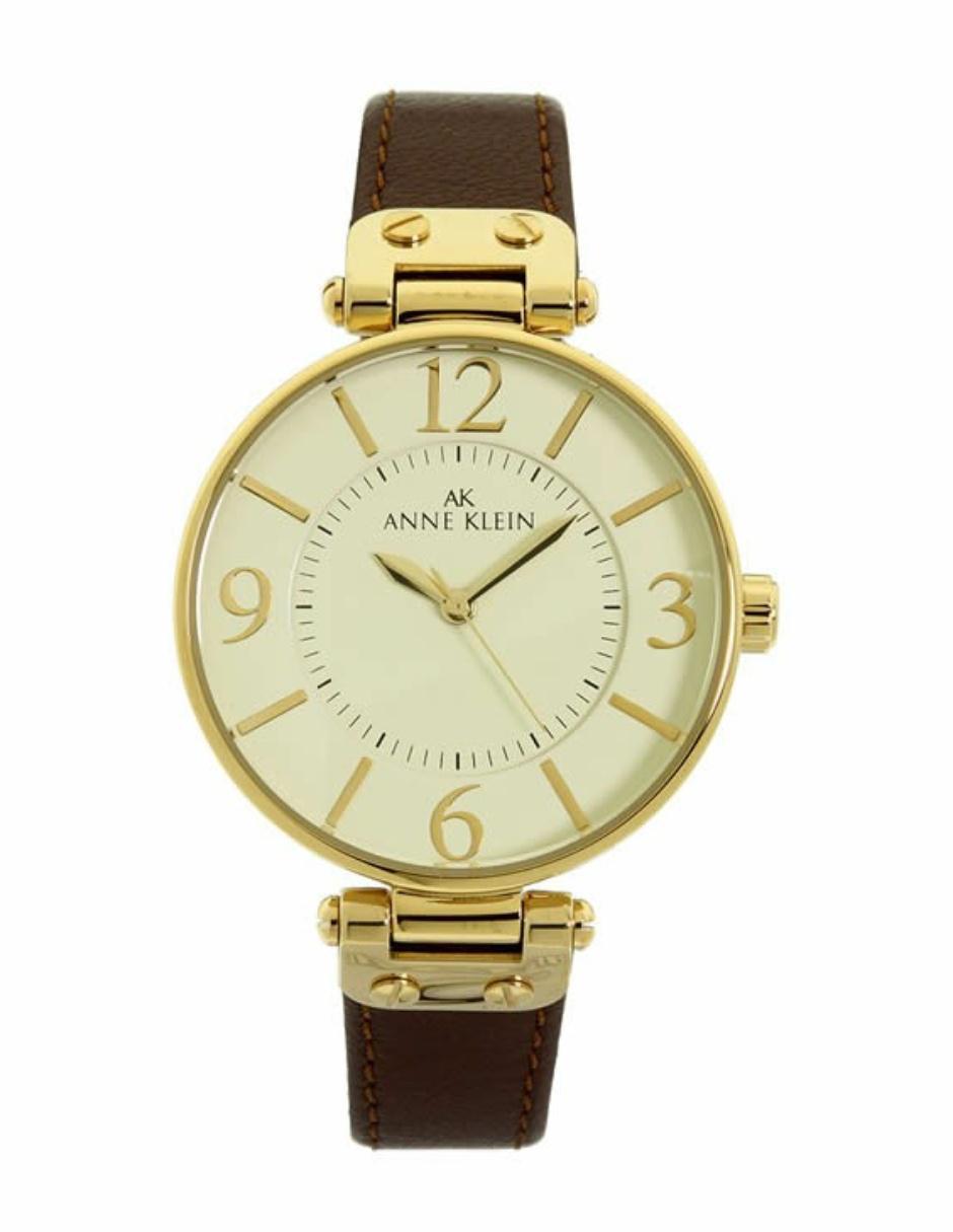 669704373 Reloj para dama Anne Klein 109168IVBN café