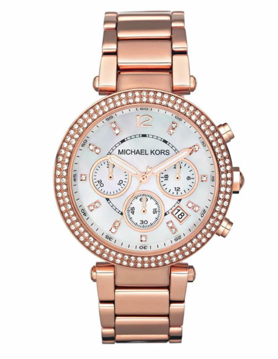 d470b8f4a76b Michael Kors Parker MK5491 Reloj para Dama Color Oro Rosa