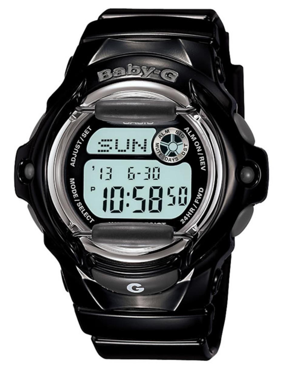 6bd4839ca0e7 Reloj para dama Casio Baby-G BG-169R-1CR negro