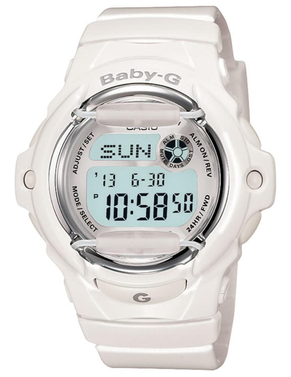 5055e22c4ed1 Vista Rápida. Reloj para dama Casio Baby-G BG-169R-7ACR blanco. Precio  Sugerido  ...