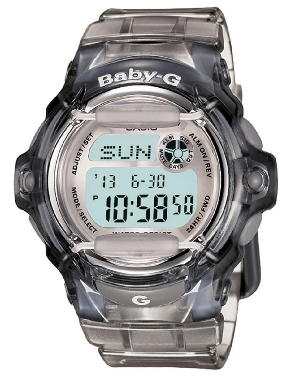 40d9c51a8f8b Reloj para dama Casio Baby-G BG-169R-8CR gris Precio Sugerido