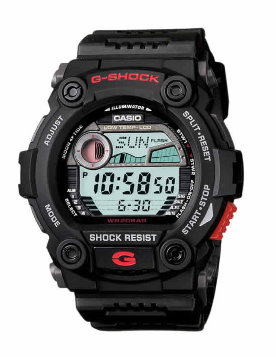 7bf635efa66d Reloj para caballero Casio G-Shock G-7900-1CR negro