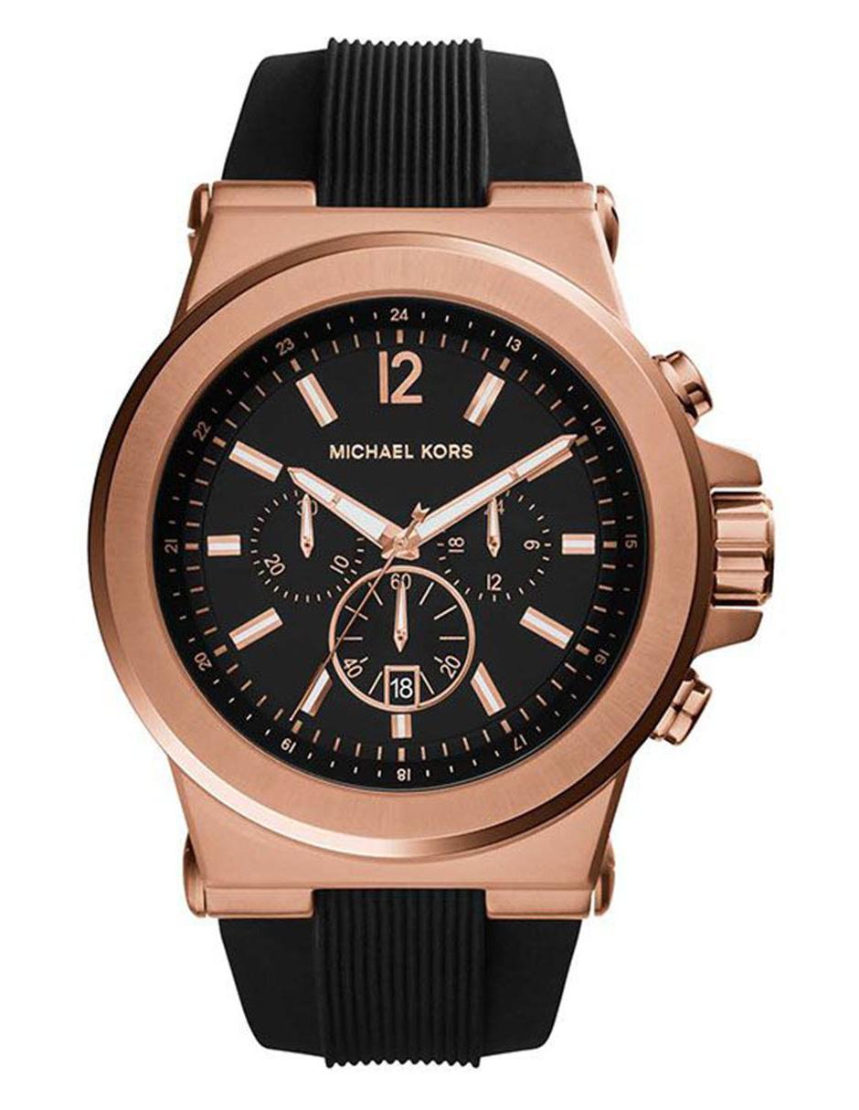 32eb7ae10178 Michael Kors Dylan MK8184 Reloj para Caballero Color Negro