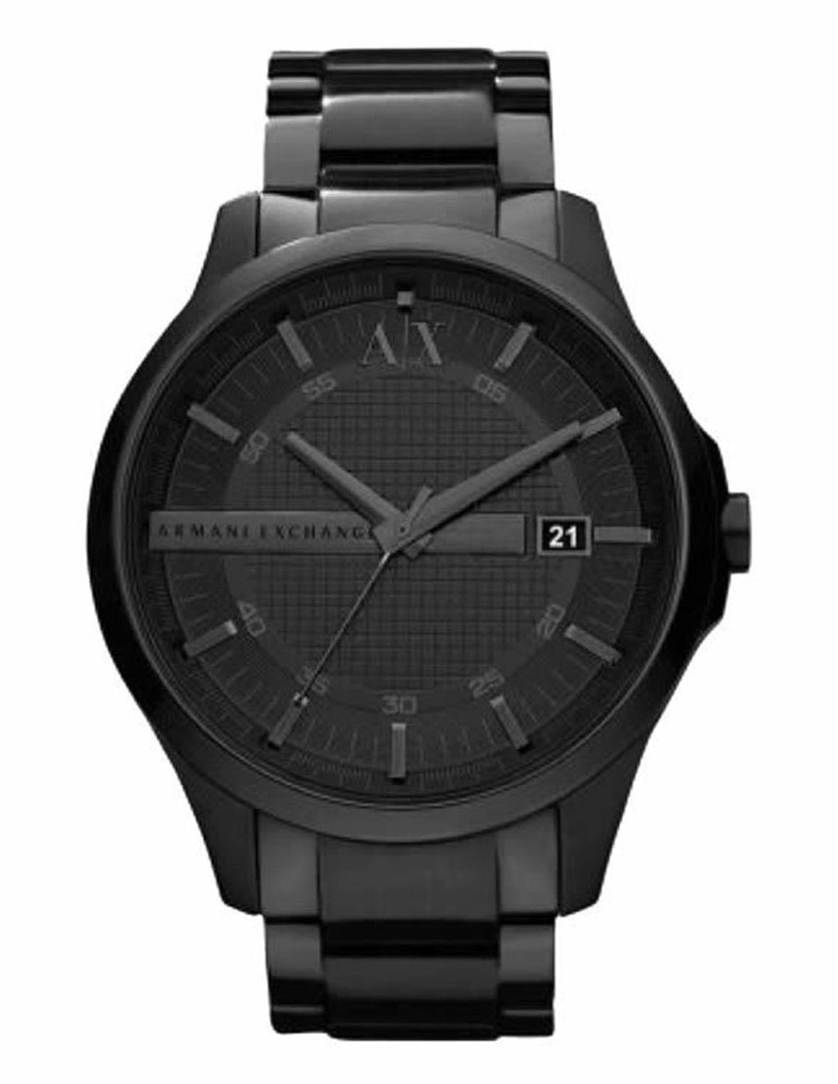 5c8faf3da6f0 Reloj para caballero A X AX2104 negro