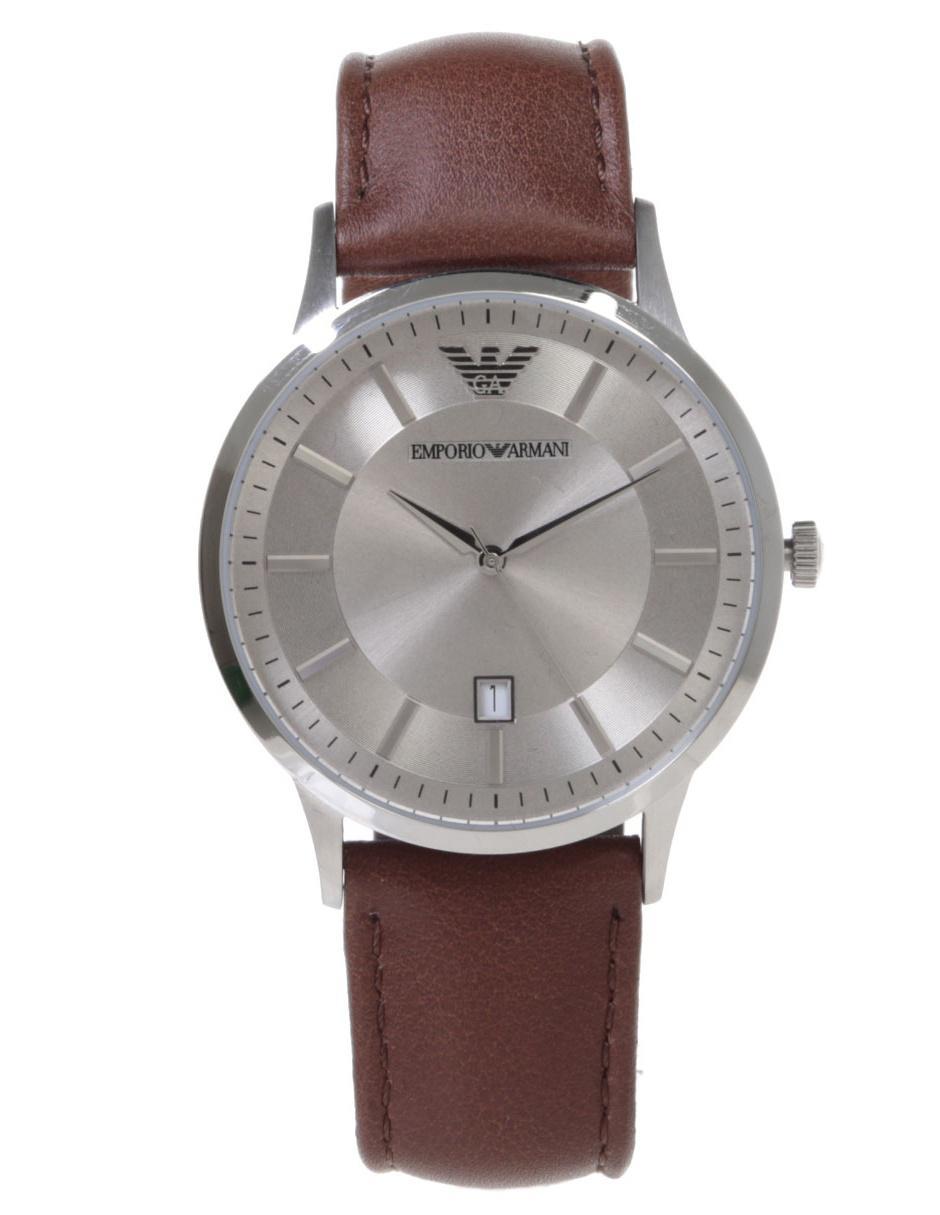 3daa65187f6b Reloj para caballero Emporio Armani Classic AR2464 café