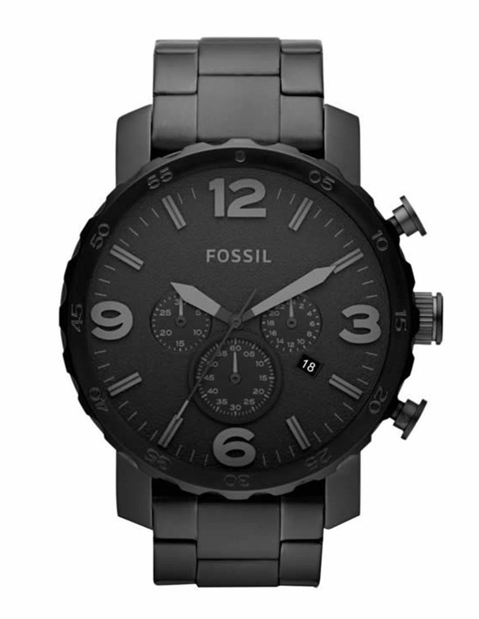 d0e99827a29d Fossil Nate JR1401 Reloj para Caballero Color Negro
