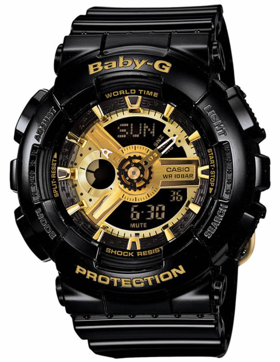 c65e43b5f32d Reloj para dama Casio Baby-G BA-110-1ACR negro Precio Sugerido