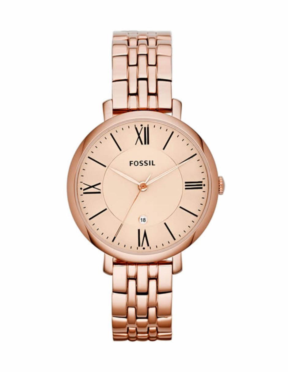 0467b74a4d12 Fossil Jcaqueline ES3435 Reloj para Dama Oro Rosa