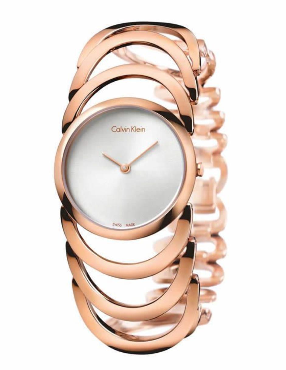 15612dce6fe9 Calvin Klein Body K4G23626 Reloj para Dama Color Oro rosa ...
