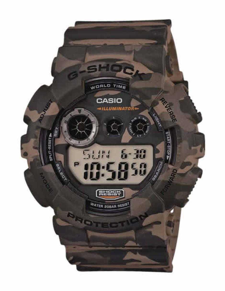 Reloj para caballero Casio G Shock GD 120CM 5CR café