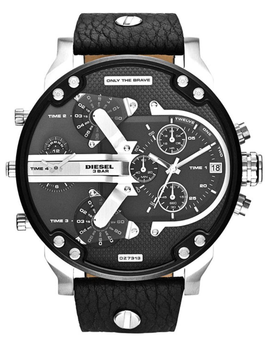 d6688a713c9f Diesel Mr Daddy 2.0 DZ7313 Reloj para Caballero Color Negro