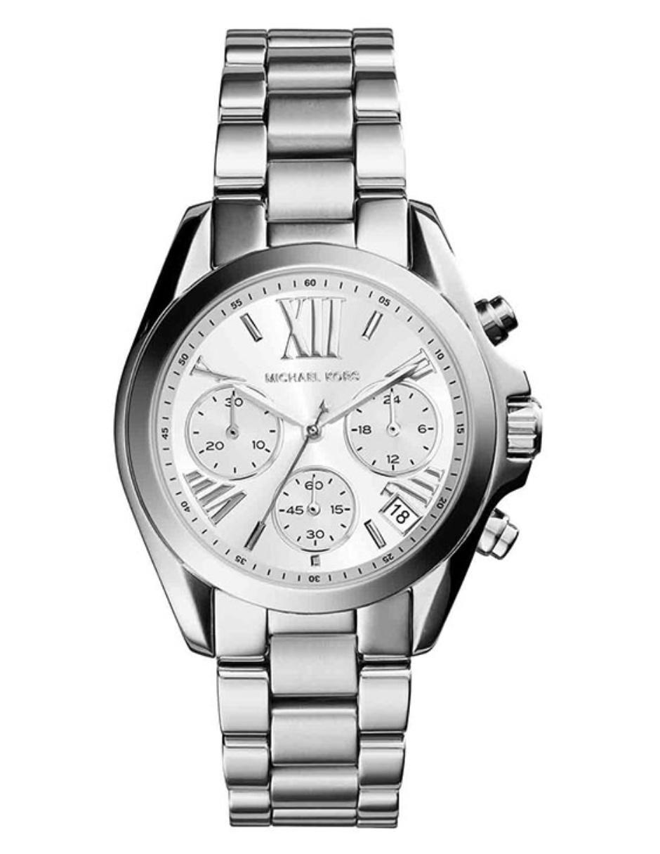 0fa40929186a Michael Kors Mini Bradshaw MK6174 Reloj para Dama Color Plata