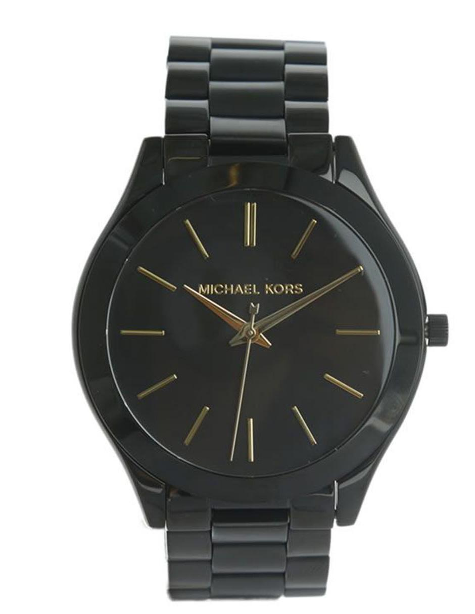 Reloj para dama Michael Kors Slim Runway MK3221 negro 5b15442d8a6a