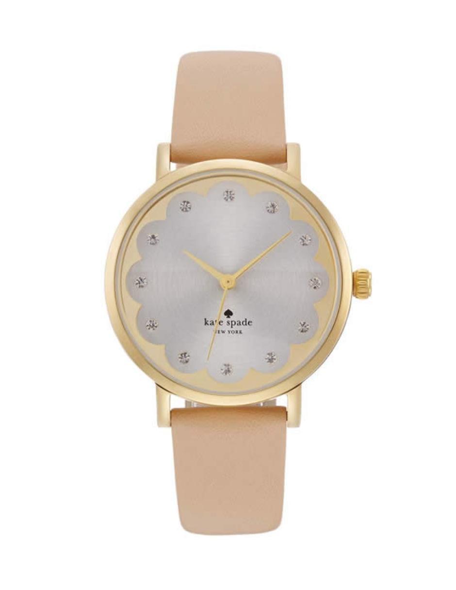 8786c928c Kate Spade Metro 1YRU0586 Reloj para Dama Color Nude