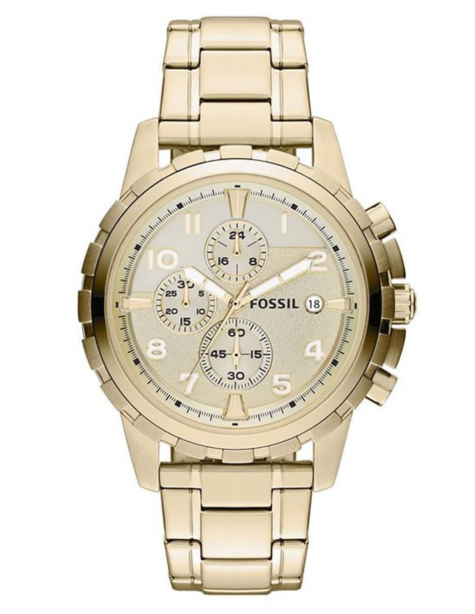 fab073197eb1 Fossil Dean FS4867 Reloj para Caballero Color Dorado