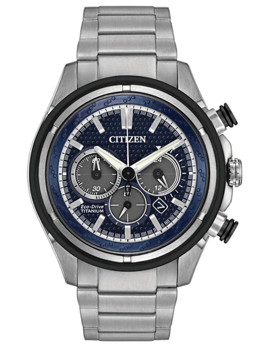 b4e5e7b6e993 Reloj para caballero Citizen Super Titanio 60718 gris