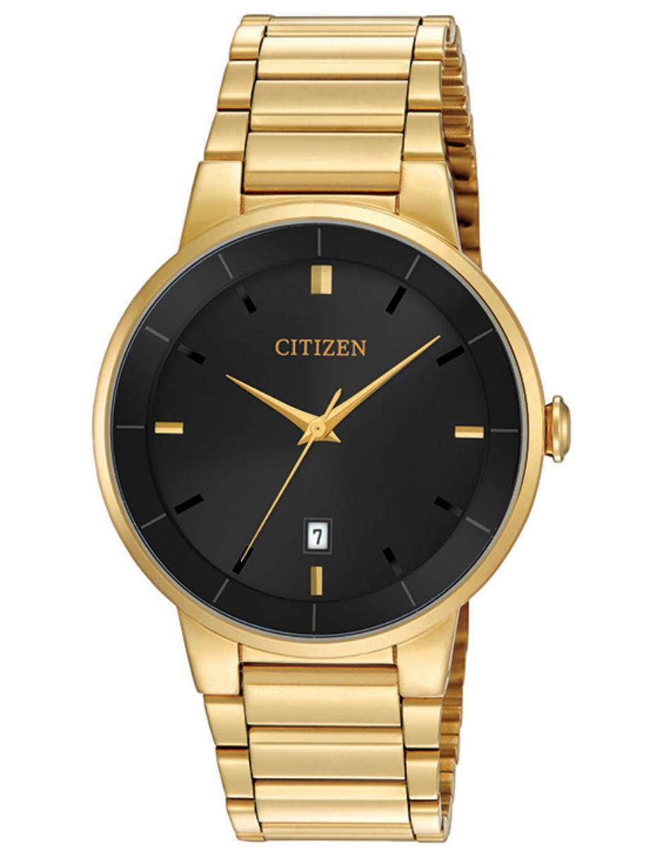 c1cfb4f5743a Reloj para caballero Citizen Quartz 60745 dorado