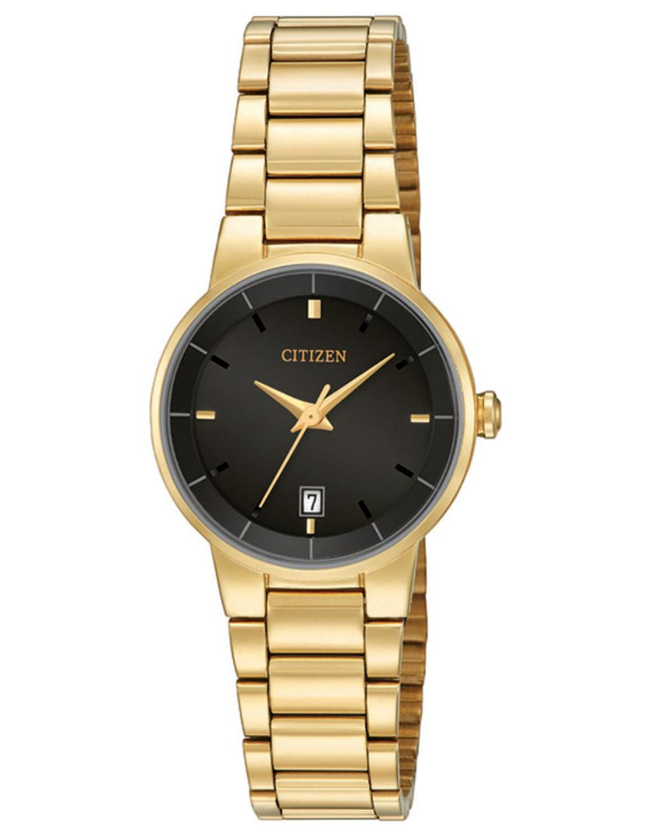 2079ae97b87a Reloj para dama Citizen Quartz 60770 dorado