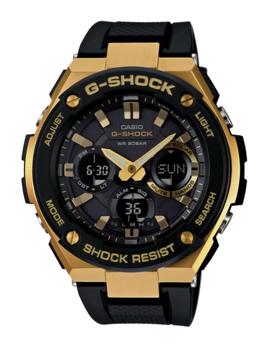 1d72e8beac8f Reloj para caballero Casio G-Shock GST-S100G-1ACR negro