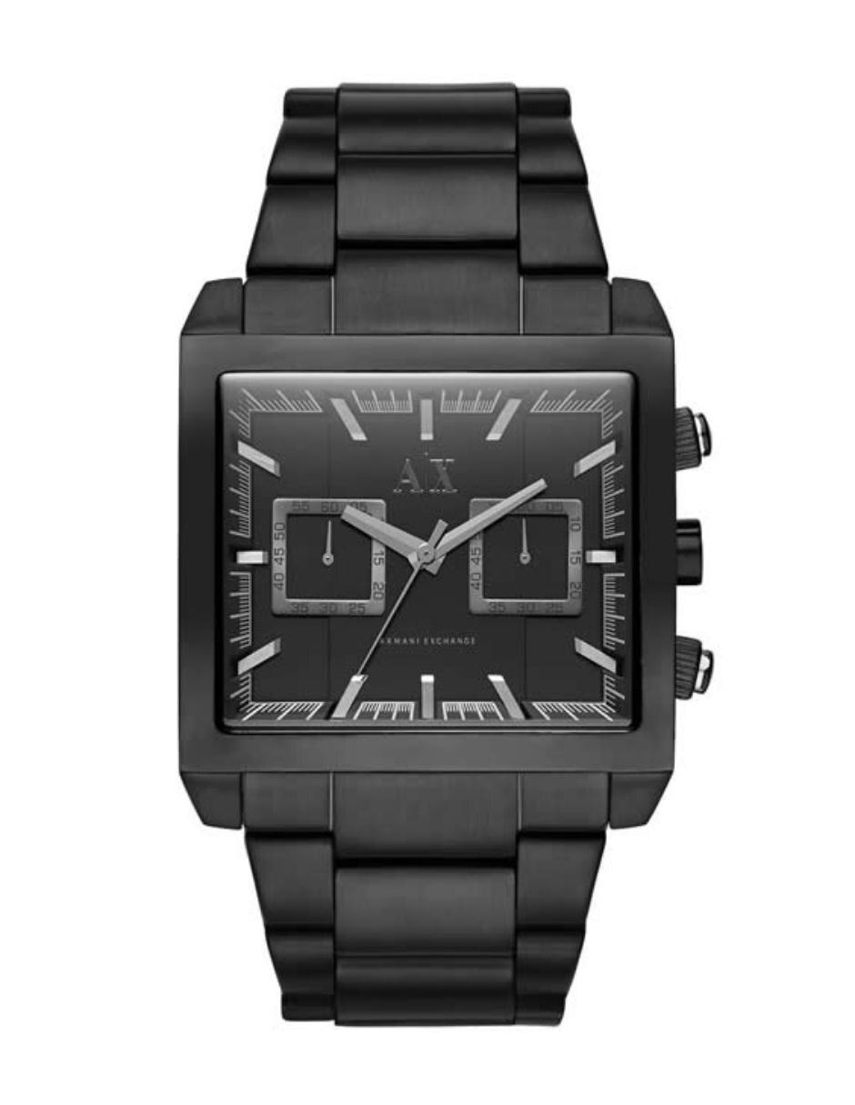 2754902865af Reloj para caballero Armani Exchange Tenno AX2222 negro