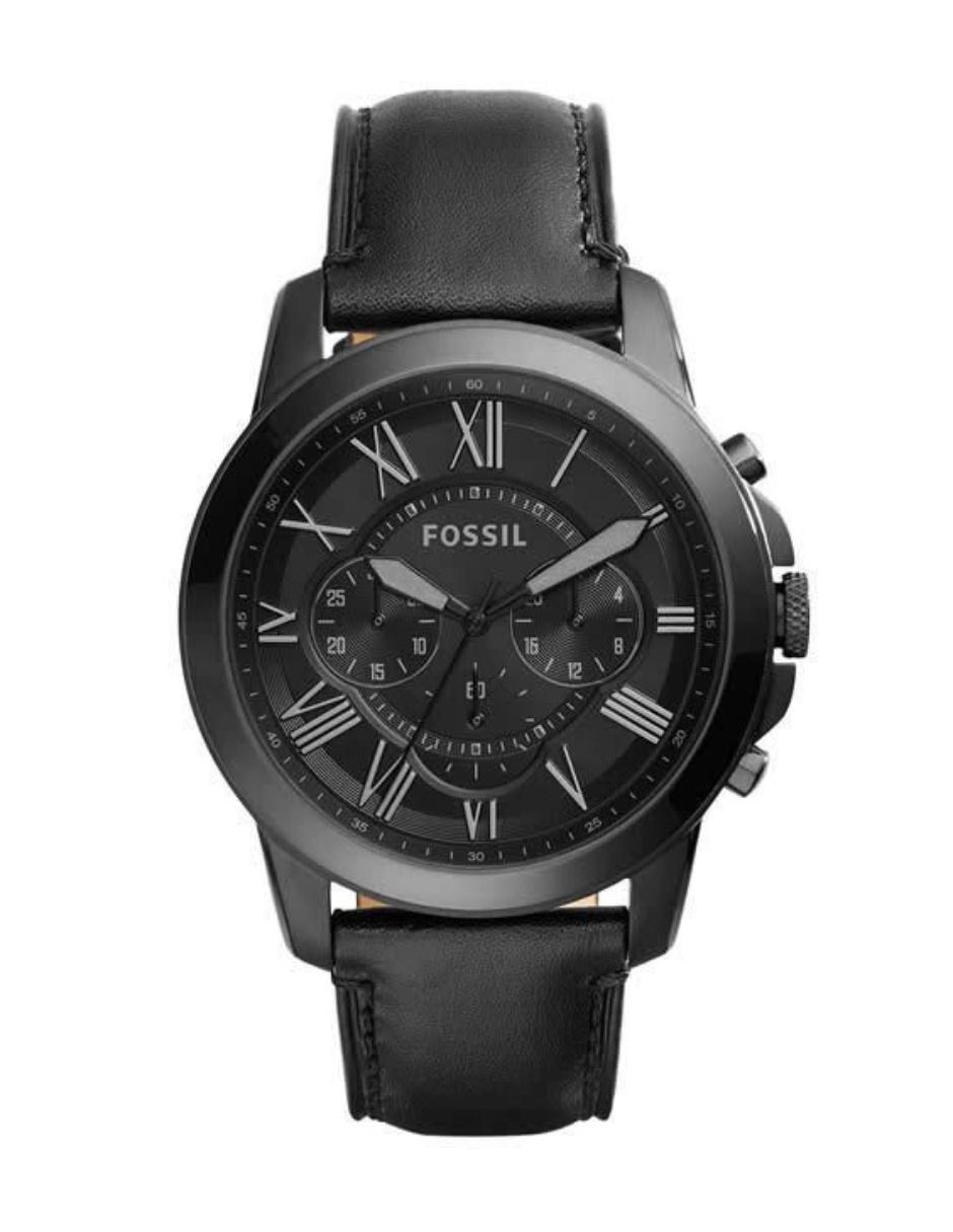 eff5f290fa5a Fossil Grant FS5132 Reloj para Caballero Color Negro