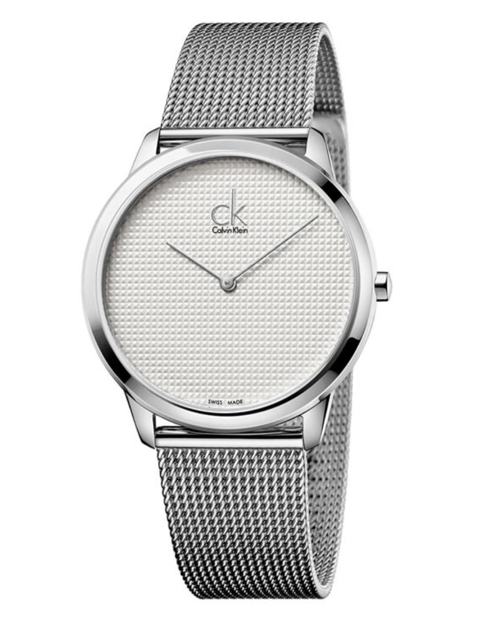 ff872e2a5c2d Calvin Klein Minimal K3M2112Y Reloj Unisex Color Acero Precio ...