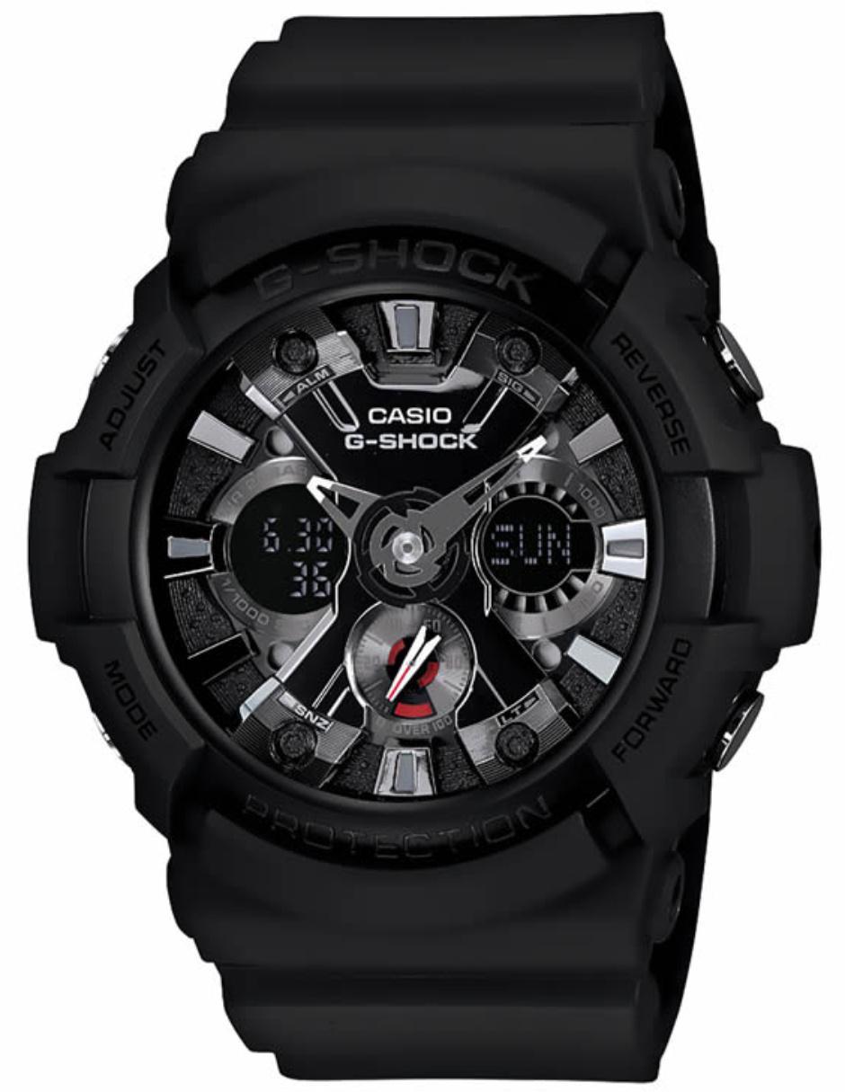 8e29c4751df Reloj para caballero Casio G-Shock GA-201-1ACR negro