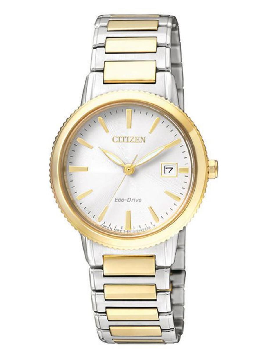 4798bfd4fd694 Citizen Eco-Drive Sport 60822 Reloj para Dama Color Acero