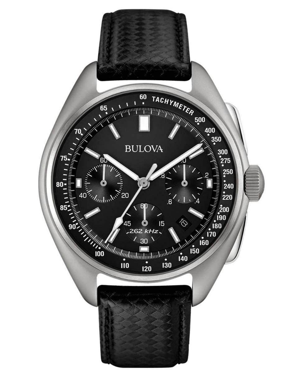 878fd2abd235 Reloj para caballero Bulova Cronografo Lunar Pilot 96B251 negro