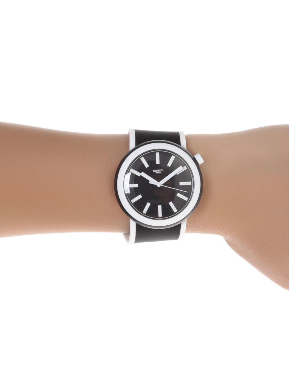 Swatch Pnb100 Unisex Poplooking Reloj Negro FJc1lT3K