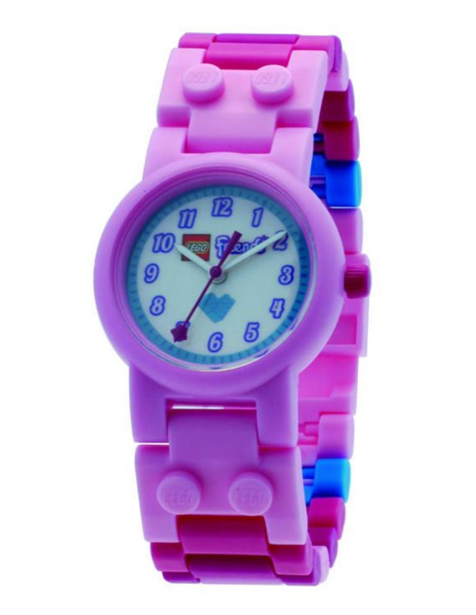9a876abddb19 Lego Friends 8020172 Reloj para Niña Color Rosa