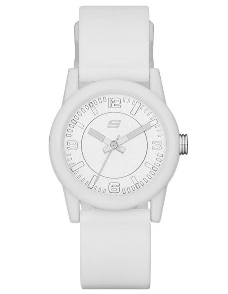 Reloj para dama Skechers Rosencrans Mini SR6029 blanco 4b01d90f30c