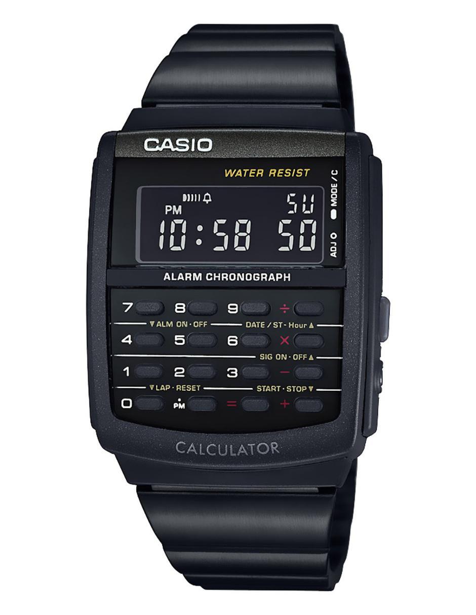 986ef1106453 Reloj para caballero Casio Vintage CA-506B-1AVT negro Precio ...