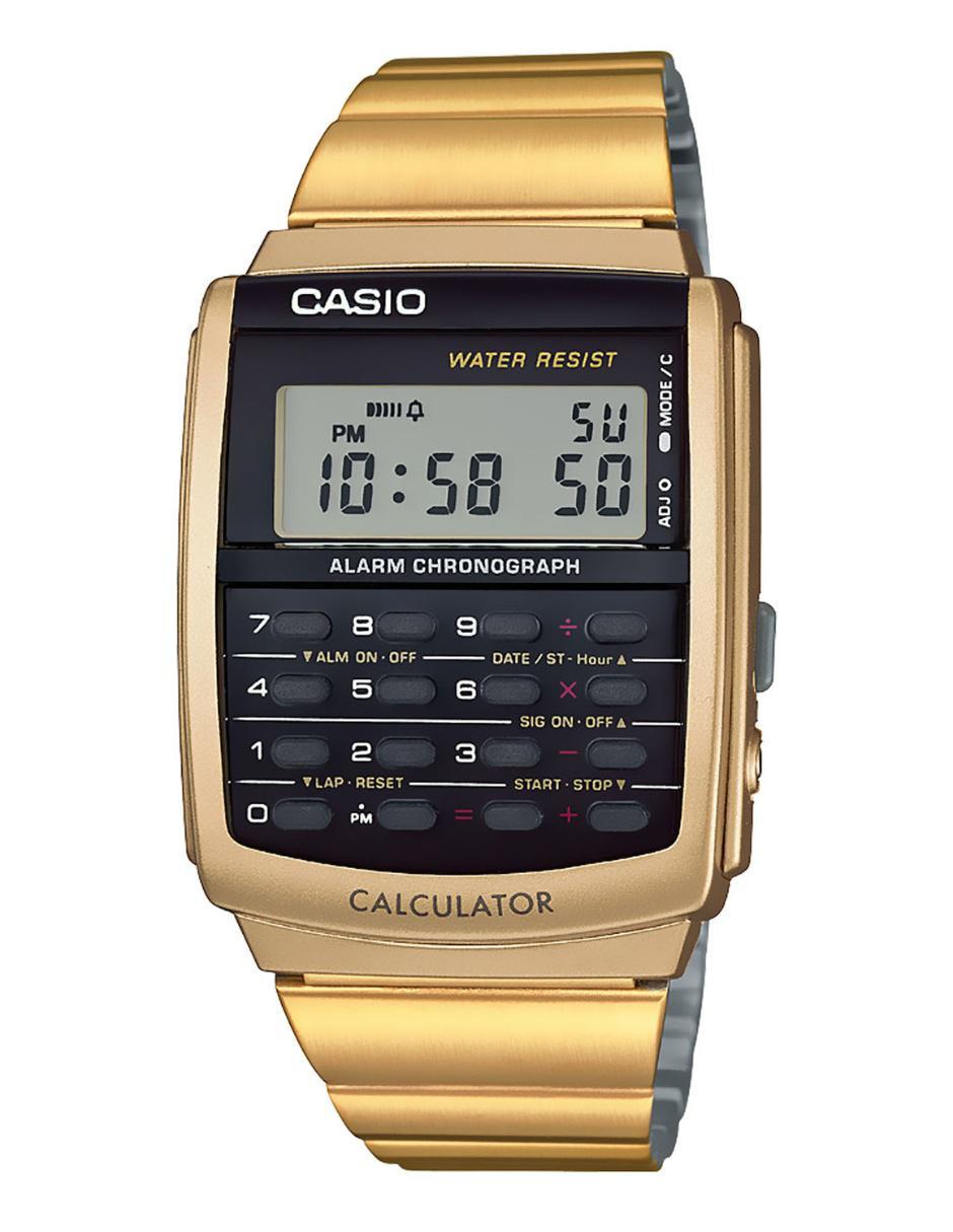 db5013b7c76 Reloj unisex Casio Vintage CA-506G-9AVT dorado Precio Sugerido