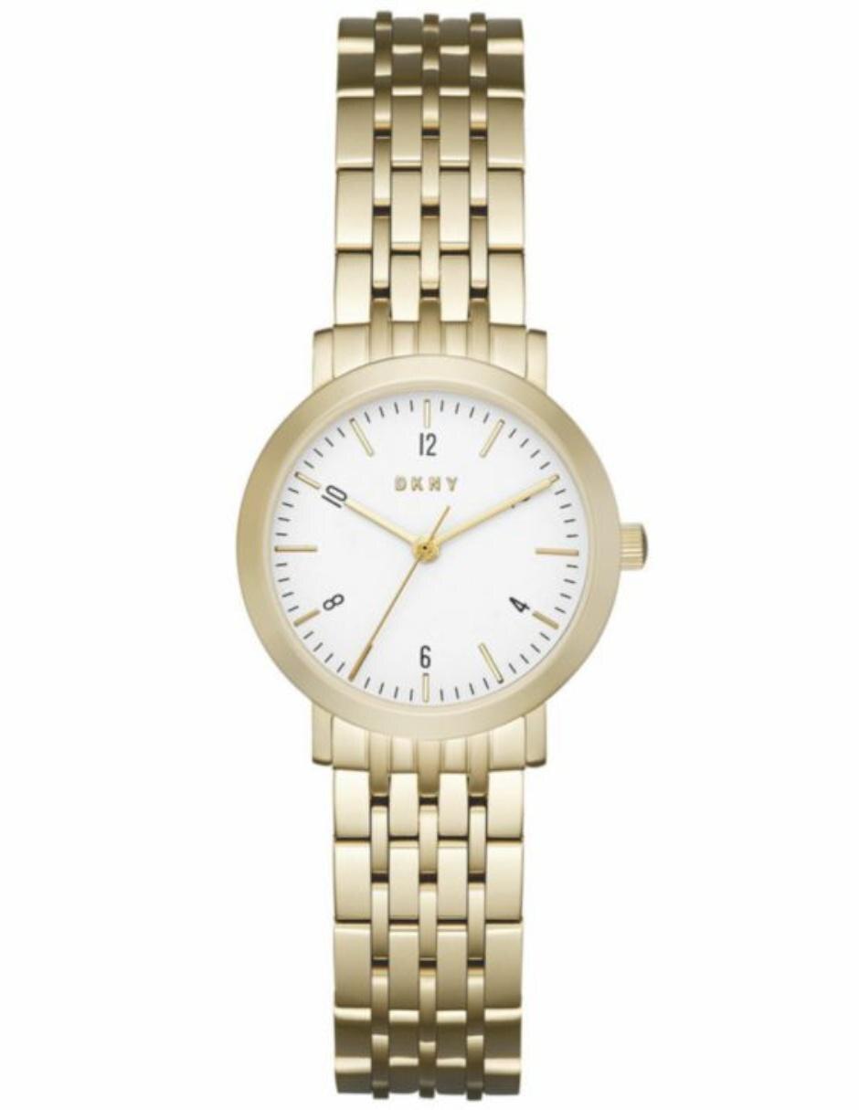 020bbe888f73 DKNY Dress Case NY2510 Reloj para Dama Color Dorado