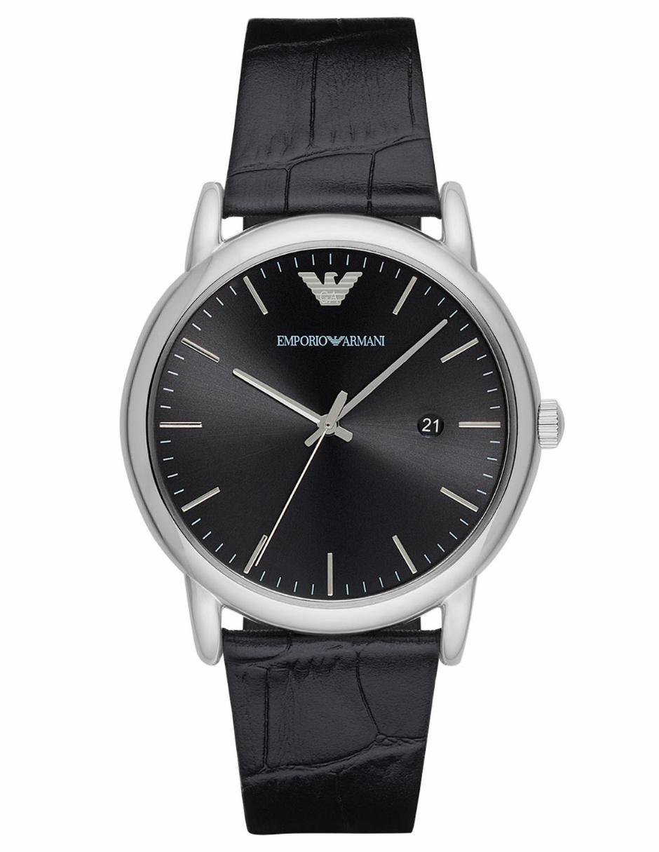 20f86f4970b5 Reloj para caballero Emporio Armani Luigi AR2500 negro