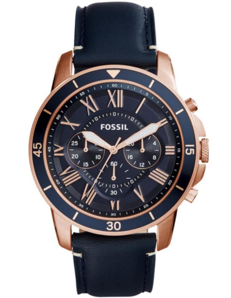 172b0684cc3f Fossil Grant Sport FS5237 Reloj para Caballero Color Azul Marino