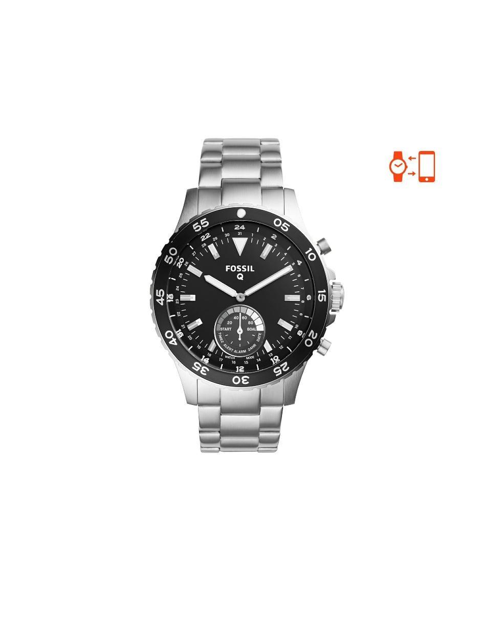 0ef67d0c8a0a Smartwatch híbrido para caballero Fossil Crewmaster FTW1126