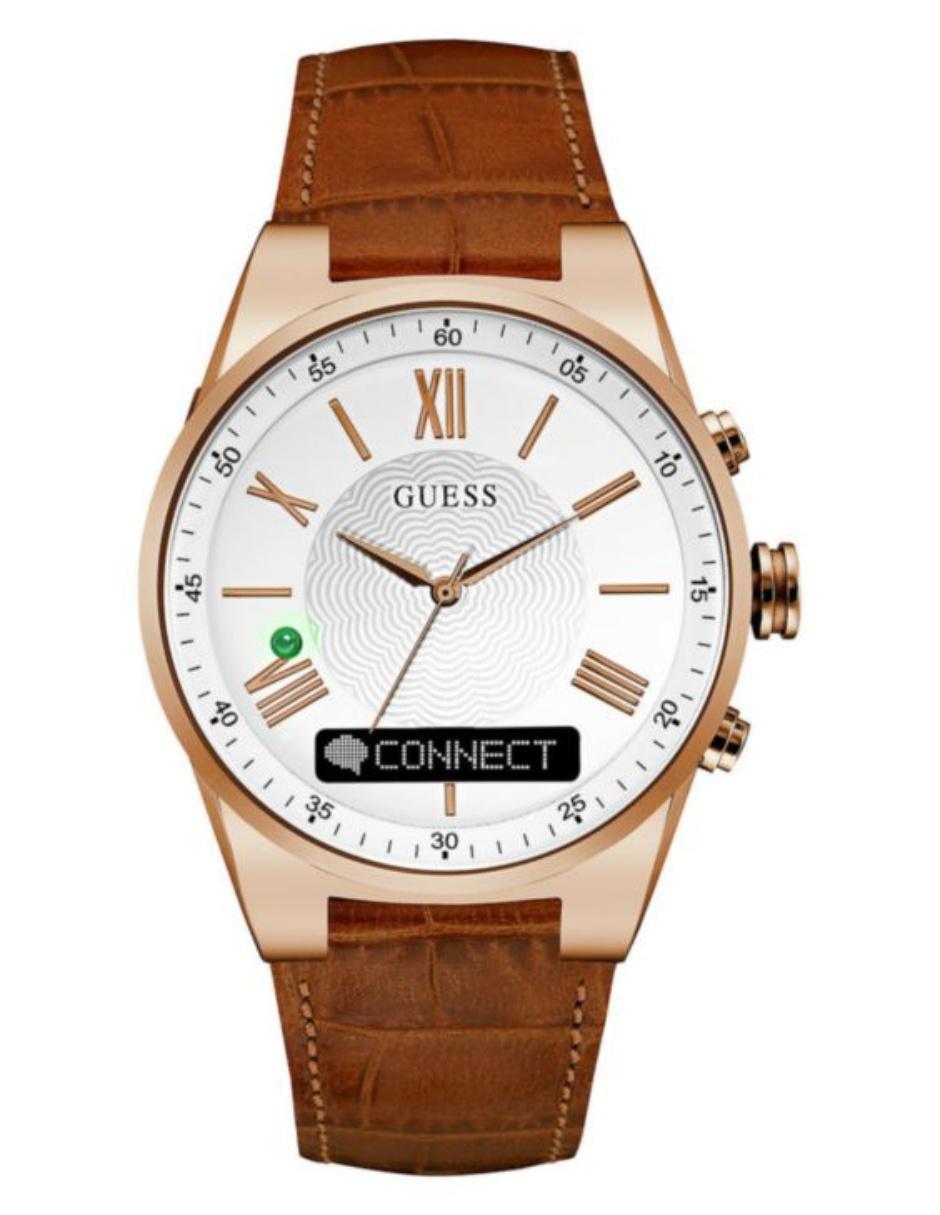2f56ebac41a6 Guess Connect Smartwatch Reloj para Caballero Piel Café