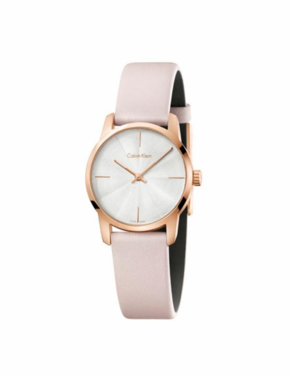 Reloj para dama Calvin Klein City K2G236X6 rosa 0dd3951acf55