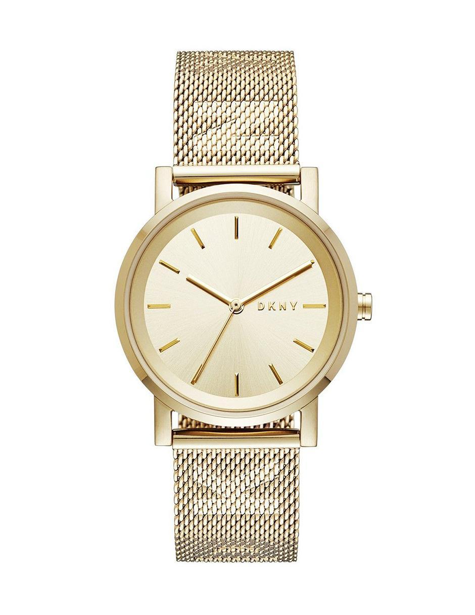 c32e2b07a8fc DKNY Soho NY2621 Reloj para Dama Color Dorado