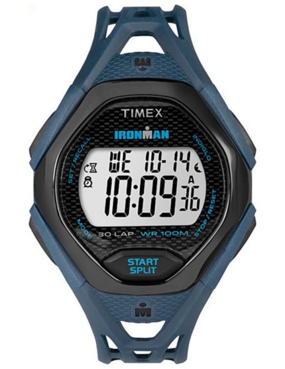 5d7641025415 Timex Ironman TW5M10600 Reloj para Caballero Color Azul