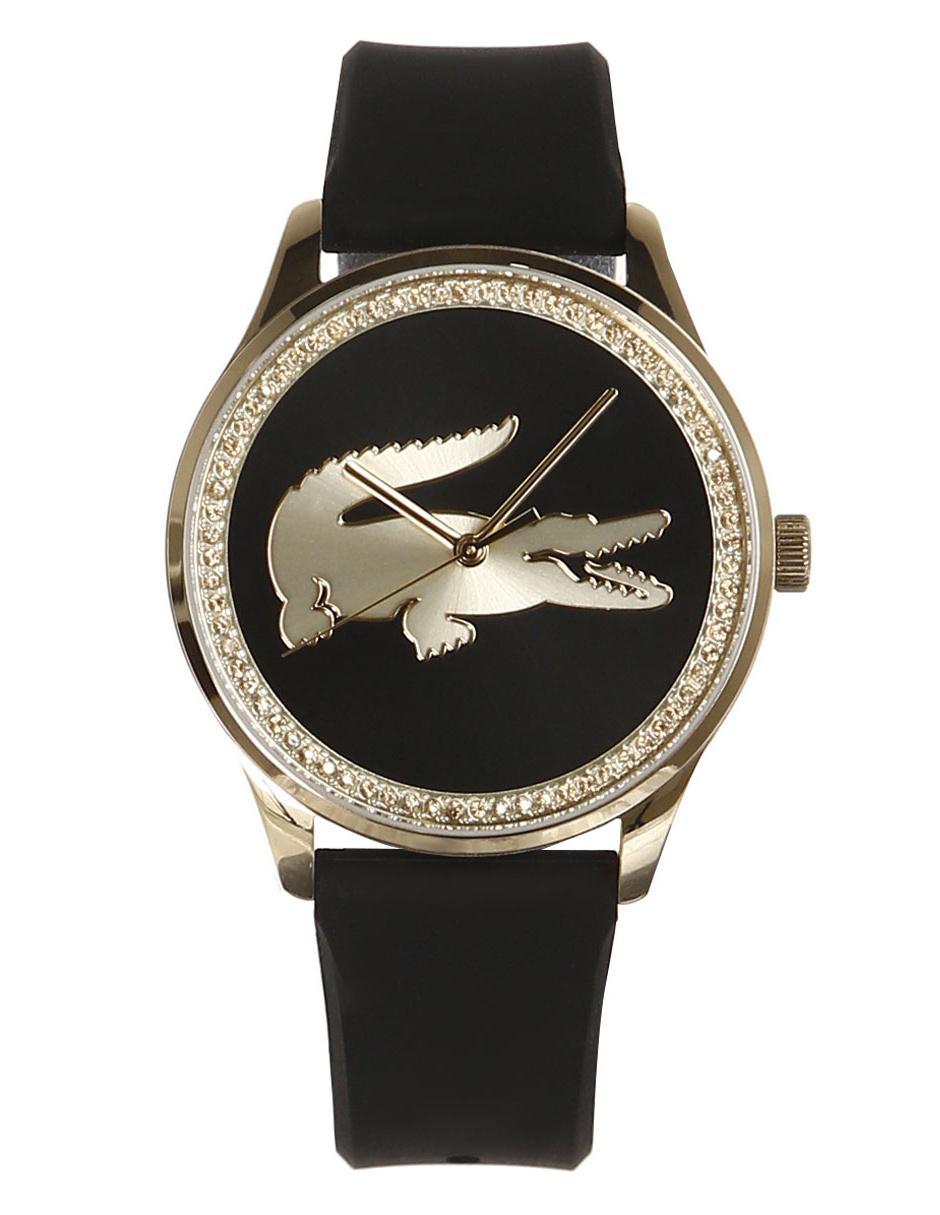 8eff84b01582 Reloj para dama Lacoste Victoria 2000968 negro